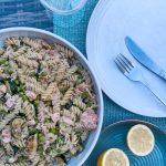 Summer Salmon Pasta