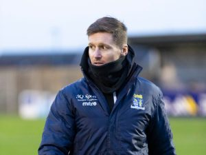 Barry Corr Manager of St Neots Town FC Interivew