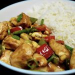 Thai chicken and cashew nuts