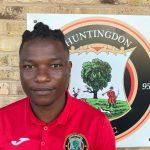 Wilkins Makate of Huntingdon Town Football Club