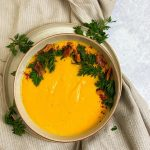 Carrot, Cardamom and Coconut Soup