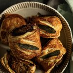 Sage and Red Onion Sausage Rolls