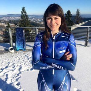 Georgie Cohen, Israeli Skeleton Athlete Interview