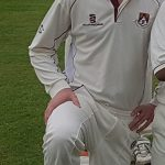 Dominic Farr of Waresley CC